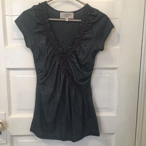 UO ruched tee